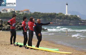 École de surf au Pays Basque
