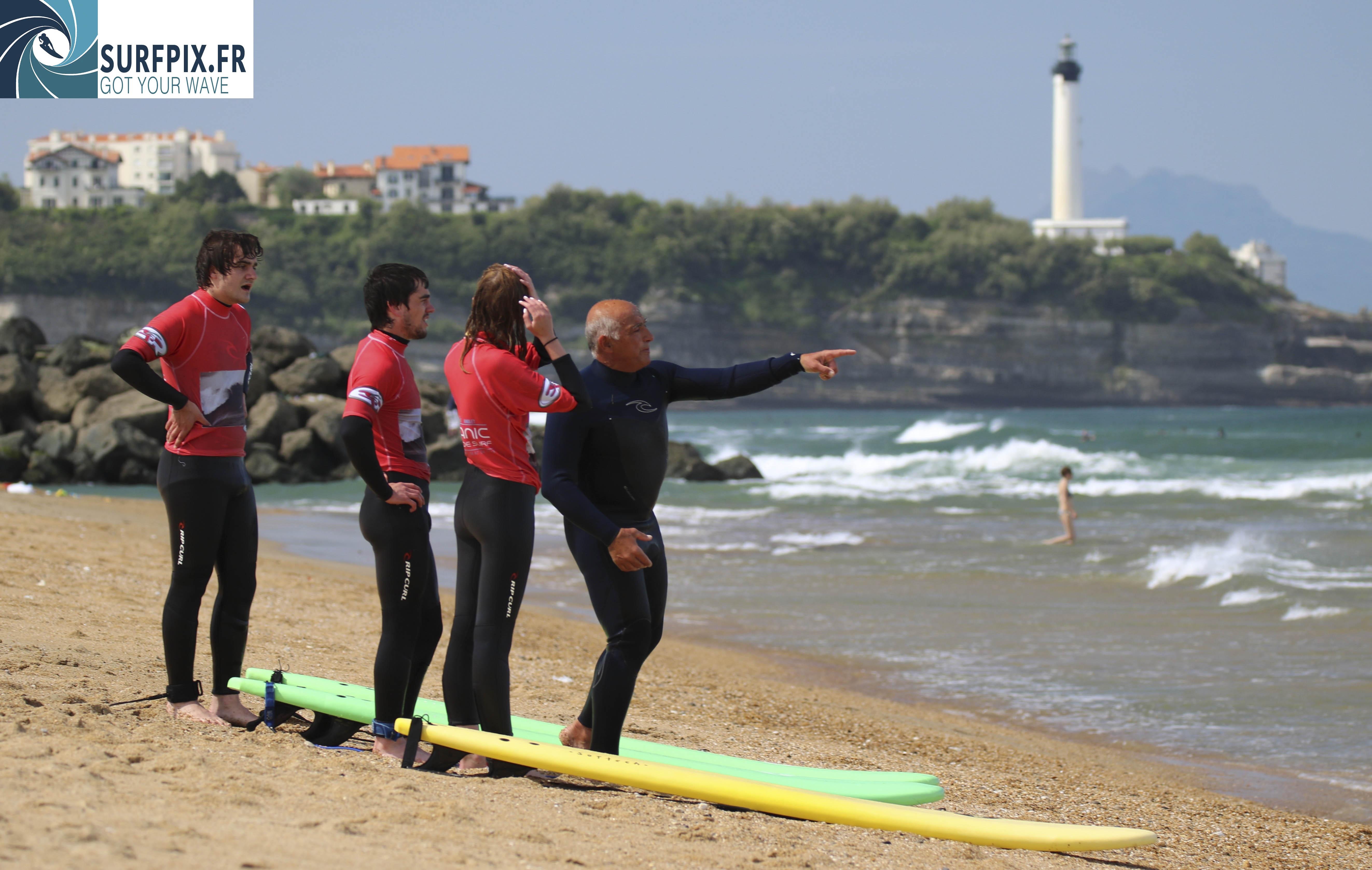 Apprenez à surfer - École de Surf - Anglet, Pays Basque