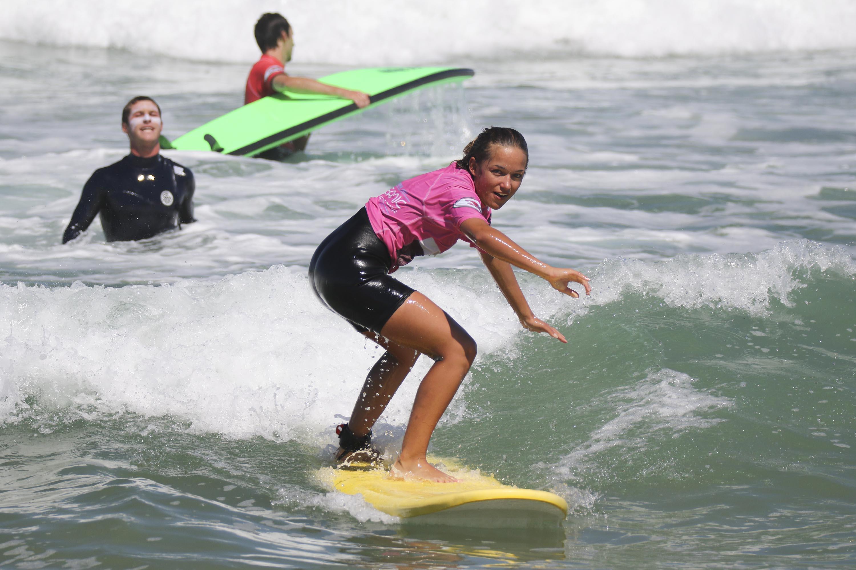 Première séance - École de Surf - Anglet, Pays Basque