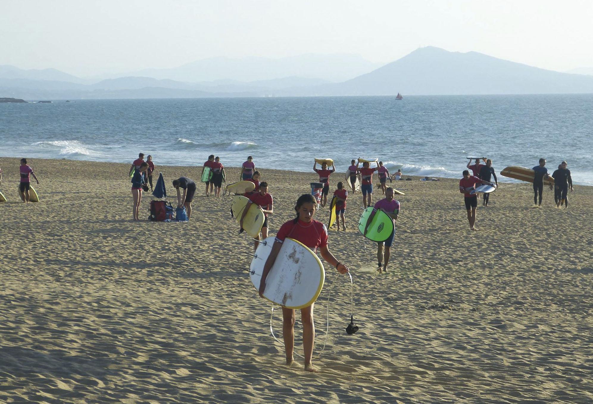 École de Surf - Anglet, Pays Basque